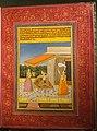 Ragini Bilavala, Ragamala painting, in Braj Bhasa India, probably Jaipur, c. 1800 AD - Morgan Library & Museum - New York City - DSC06572.jpg