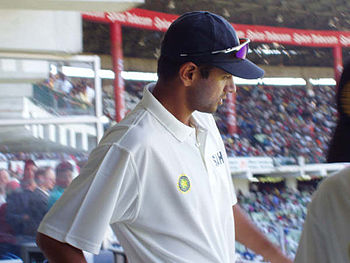 Rahul Dravid, the former captain of the Indian...