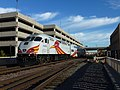 Rail Runner Regional Transportation Train, Albuquerque, 2012 - panoramio.jpg