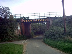Railway Bridge near Burnt House Farm - geograph.org.uk - 250638.jpg