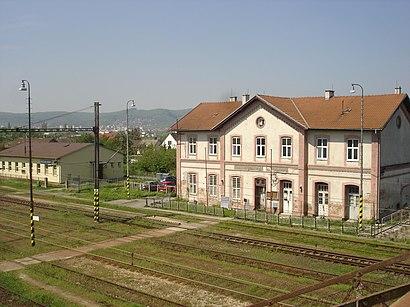 Ako do Železničná stanica Bratislava–Vajnory hromadnou dopravou - O mieste