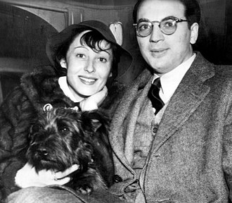 Clifford Odets - Luise Rainer and Clifford Odets in January 1937, shortly before their marriage