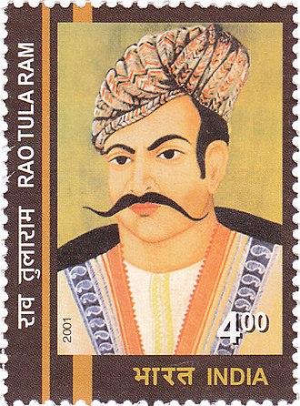 Rao Tula Ram - Rao Tula Ram on a 2001 stamp of India