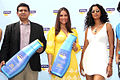 Rakshit Hargave, Lara Dutta and Sheetal Mallar at the launch of NIVEA Sun in India (11).jpg