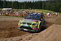 Rally Finland 2010 - shakedown - Khalid Al Qassimi 1.jpg