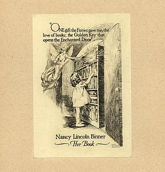 Ralph Fletcher Seymour - Image: Ralph Fletcher Seymour Bookplate Nancy Lincoln