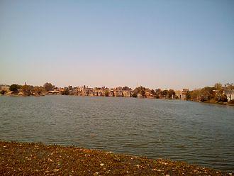 Godhra - Ramsagar Lake near Bus Stand, Godhra