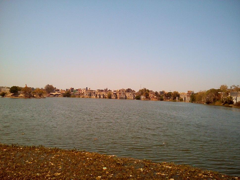 Ramsagar Lake near Bus Stand, Godhra