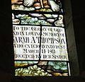 Raphoe Cathedral Church of St. Eunan Choir Window W09 Good Shepherd Detail Bottom Panel 2016 09 02.jpg
