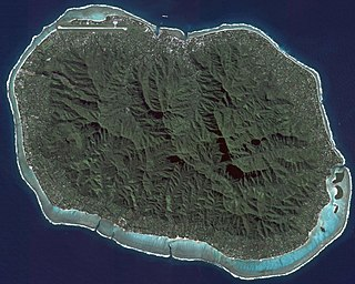 Island of the Cook Islands