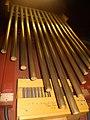 Ravenna, chiesa di San Rocco, campane tubolari dell'organo.jpg