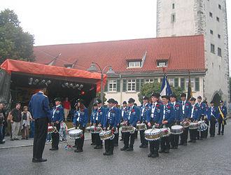 Rutenfest Ravensburg - The Rutentrommler drumming group