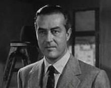 Ray Milland en 1950, en una scena d'a cinta A Life of Her Own.