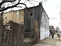 Rear of vacant rowhouse, 351 Whitridge Avenue, Baltimore, MD 21218 (38847958440).jpg
