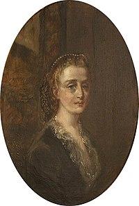 Rebecca Dulcibella Orpen (1830-1923) - Self Portrait (bust-length oval) - 343194 - National Trust.jpg