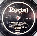 Record Label Regal, USA, Charly, My Boy.jpg