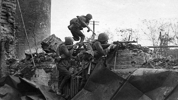Gatustrider i Stalingrad, Röda armén