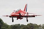 Red Arrows - RIAT 2009 (3900989263).jpg