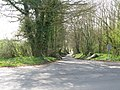 Redhouse Lane junction with Chartham Downs Road - geograph.org.uk - 1245226.jpg