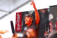 Redman (Rapper) on stage
