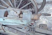 Reffye mitrailleuse mechanism