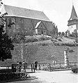Református templom az Avas oldalában. A kép az Erzsébet tér felől készült, előtérben a Szinva hídja. Fortepan 6235.jpg