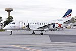 Regional Express Airlines (VH-ZRN) Saab 340B taxiing at Wagga Wagga Airport 1.jpg