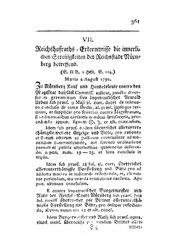 Reichshofraths-Erkenntnisse die innerlichen Streitigkeiten der Reichsstadt Nürnberg betreffend, S. 361-363