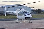 Reid Heliwork (VH-BCX) Agusta AB-206B JetRanger II at Wagga Wagga Airport.jpg