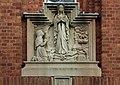 Relief at front of St Bernadette's church, Allerton.jpg
