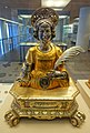 Reliquary bust of Saint Barbara, Germany, 1610, gilt silver, copper, wood - Germanisches Nationalmuseum - Nuremberg, Germany - DSC03550.jpg
