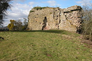 Kilpeck - Remains of Kilpeck Castle