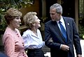 Remarks by President Bush, Mrs. Reagan, and Mrs. Bush in a Photo Opportunity.jpg