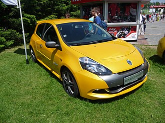Clio Renault Sport - Image: Renault Clio, 2010 Brno WSR (1)
