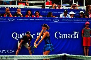 Carole Monnet n°13 Mondiale ITF Pro