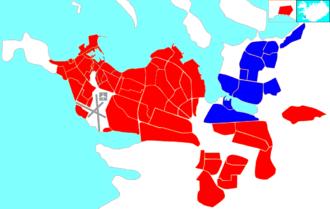 Grafarvogur - Image: Reykjavík map (D08 Grafarvogur)