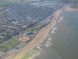 Rhyl - Image: Rhyl Seafront geograph.org.uk 388762