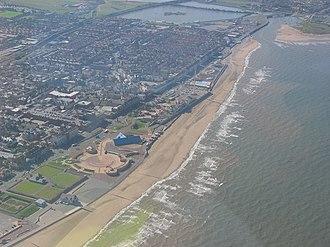 Rhyl - Image: Rhyl Seafront geograph.org.uk 388762