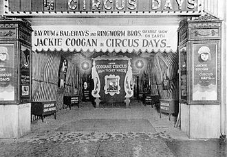 Circus Days - Circus Days being shown at a Pennsylvania theater
