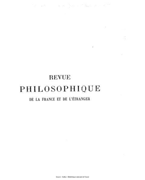 File:Ribot - Revue philosophique de la France et de l'étranger, tome 60.djvu