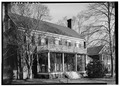 Richard D. Bayly House, Back Street, Accomac, Accomack County, VA HABS VA,1-AC,6-7.tif