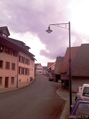 Rickenbach, Basel-Landschaft - Street in Rickenbach