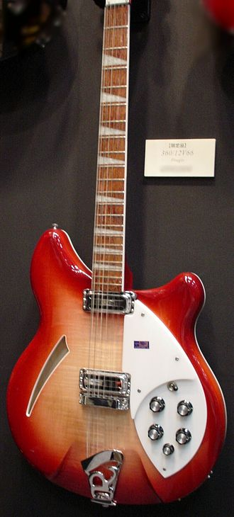 If I Needed Someone - The Rickenbacker 360/12, which the Byrds began using after hearing Harrison's use of the guitar with the Beatles in 1964