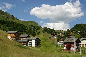 Riederalp - Riederalp village