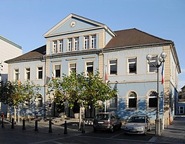 The town hall of Riedisheim