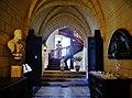 Rigny-Ussé Château d'Ussé Innen Spiraltreppe 2.jpg