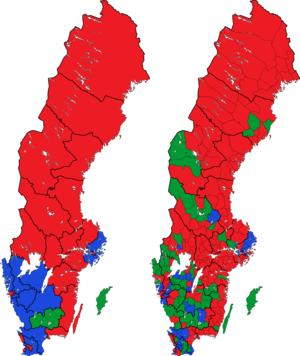 Rigsdagsvalget i Sverige 1982 i valgkredse og kommuner.png