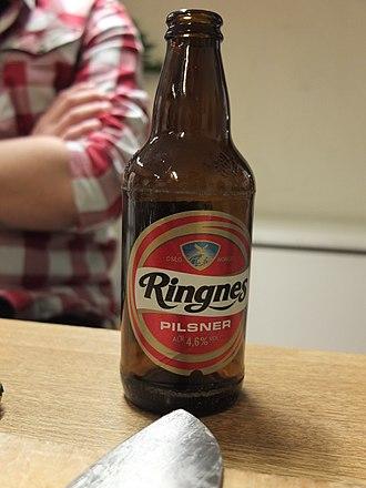 Ringnes - Bottle of Ringnes beer