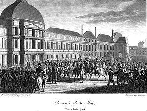 National Convention - Journées des 31 Mai 1er et 2 Juin 1793