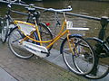 Rivel bicycle with Rabobank advertisement.jpg